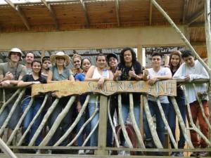 Linda Moskalyk - students from Univ Costa Rica