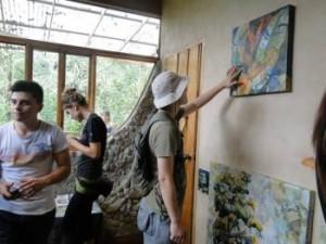 Linda Moskalyk - studio visitors2